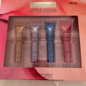 NEW BareMinerals little gems mask set